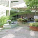 Gartenterrasse Innenhof
